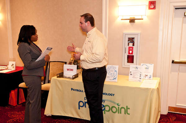 Primepoint Payroll & HR Services at Center conference