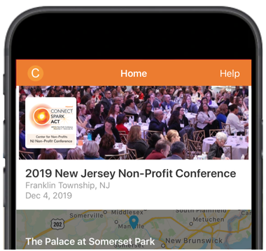 2019 Center for Non-Profits Conference App Image