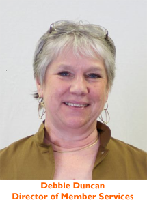 Debbie Duncan, Director of Membership