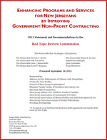 2015 Recommendations to the Red Tape Review Commission