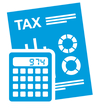 Image of Tax Papers and Calculator